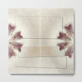 Cargason Fantasy Flowers  ID:16165-115208-05251 Metal Print