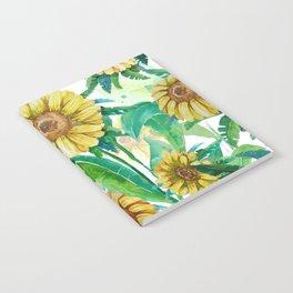 yellow flowers Notebook