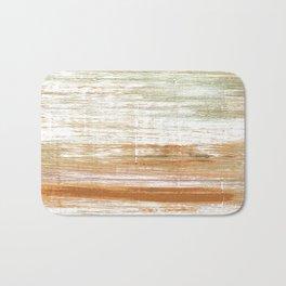 Vanilla watercolor Bath Mat