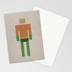Retro Aquaman Stationery Cards