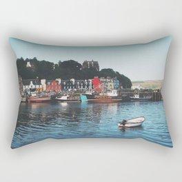 The Port Of Tobermory Rectangular Pillow