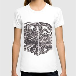 Octopus Invisble Box T-shirt
