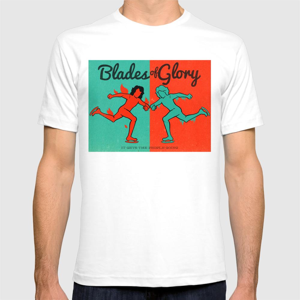 Blades Of Glory T-shirt by Derekeads TSR2814680