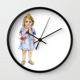 little princess Wall Clock