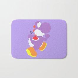 Yoshi(Smash)Purple Bath Mat