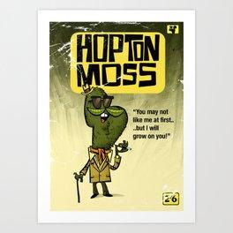 Hopton  Moss - Privet Detective Art Print