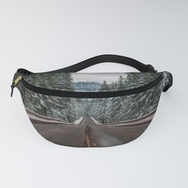 Winter Road Trip - Pacific Northwest Nature Photography Fanny Pack