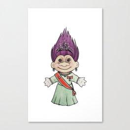 Dronningtroll Canvas Print