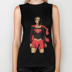 Girl of Steel Biker Tank