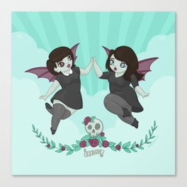 My Favorite Murder: Sweet Baby Angels Canvas Print