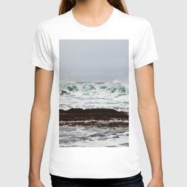 Green Wave Breaking T-shirt