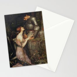 John William Waterhouse Lamia and Soldier 1905 Stationery Cards