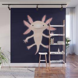 Axolotl vector illustration Wall Mural