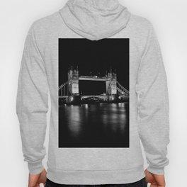 Tower Bridge London at Night Hoody