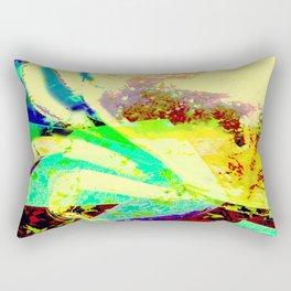 Crab Collage Rectangular Pillow