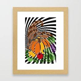 A PUZZLING OF PLENTY Framed Art Print