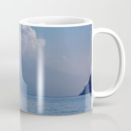 Lake Garda in the Blue Mist Coffee Mug