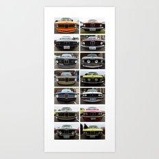 Bavarian Auto Club - West Seattle 2014 Art Print