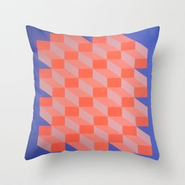 Geometric Design - By Dominic Joyce Throw Pillow