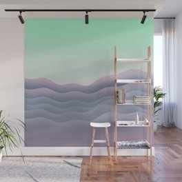 iso mountain sunset Wall Mural