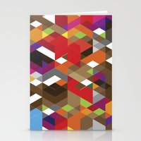deadmau5 Stationery Cards featuring Life like a Geometry by Sitchko Igor