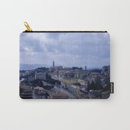 Vintage Color Photo * Perugia * Umbria * Italy * Kodachrome * 1950's Carry-All Pouch