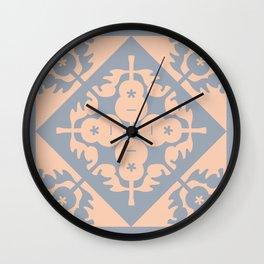 Hawaiian Quilt  Wall Clock