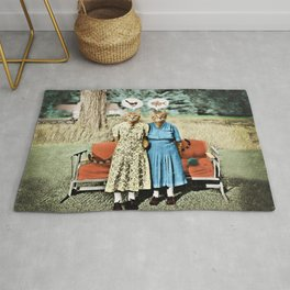 Two Cool Kitties: What's for Lunch? Rug