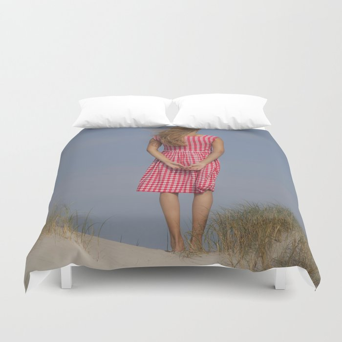 Looking out Duvet Cover