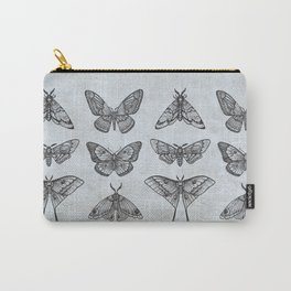 Moths & Butterflies Carry-All Pouch