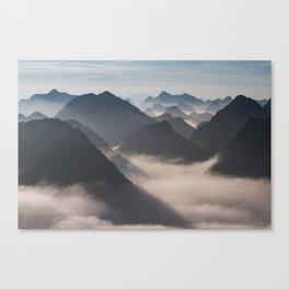 Mountain Valley #society6 Canvas Print
