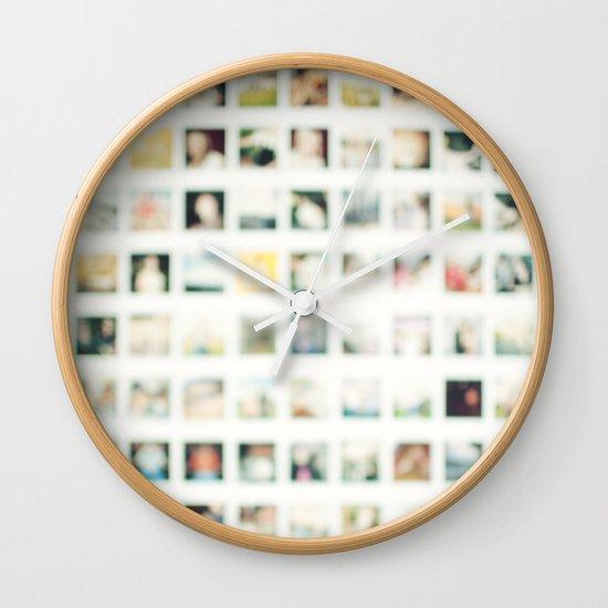 Polaroid Wall Wall Clock
