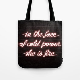 RED RISING | She is Fire Tote Bag