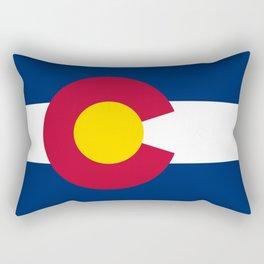 Colorado Flag Rectangular Pillow