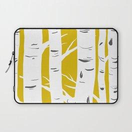 Mustard Birches Laptop Sleeve