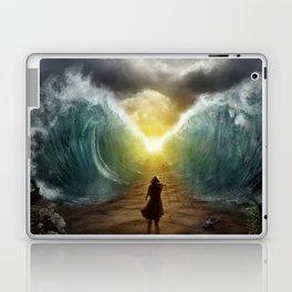 Moses splits the sea Laptop & iPad Skin