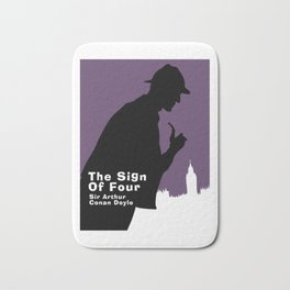 The Sign of Four -Sherlock Holmes Bath Mat