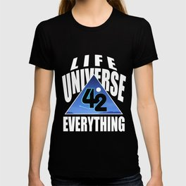 42 answer number time life universe joke gift T-shirt