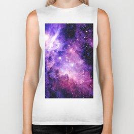 Galaxy Nebula Purple Pink : Carina Nebula Biker Tank