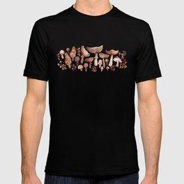 Watercolor Mushrooms T-shirt