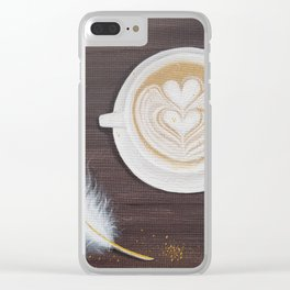 Morning Conversations with God Clear iPhone Case