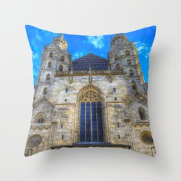 St Stephen's Cathedral Vienna Throw Pillow