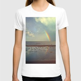 Rainbow Over Sea T-shirt