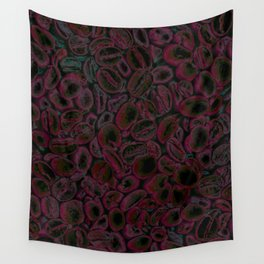Pink Coffee Wall Tapestry