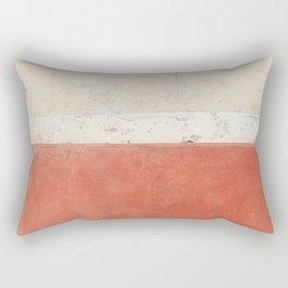 Abstract Street Wall Rectangular Pillow
