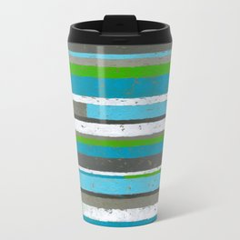Weathered Stripe Travel Mug