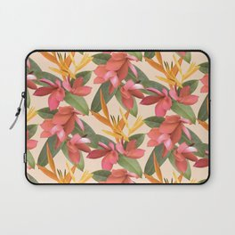 Mixed Paradise Tropicals in Vintage Laptop Sleeve