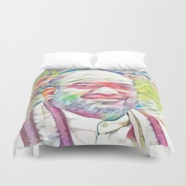 Amit Shah (Creative Illustration Art) Duvet Cover