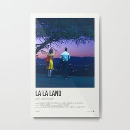 La La Land - A Lovely Night Metal Print