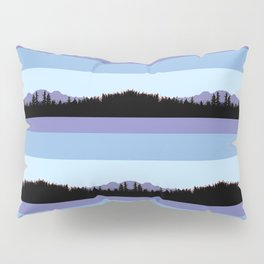 Abstract mountains horizons 2 Pillow Sham